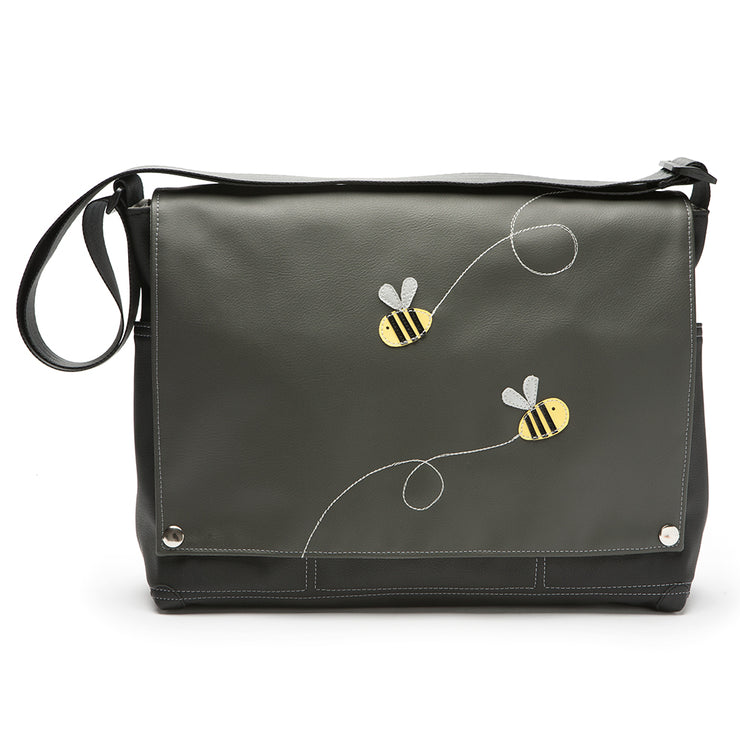 Trucker Messenger Bag - 'Honeybee'
