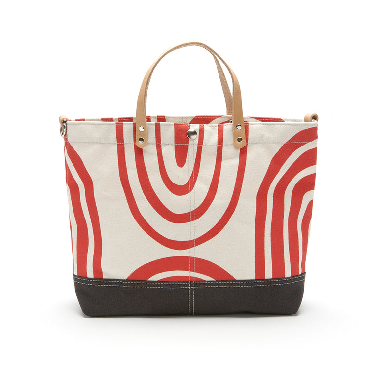Printed Vessel Tote Bag - 'Give & Take'