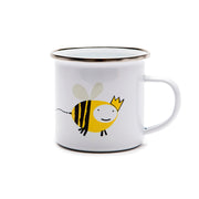 'Queen Bee' Logo Mug