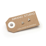 Tiny Bee Earrings by Amano Studio