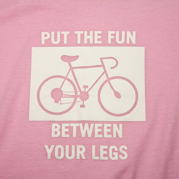 'Put the Fun Between Your Legs' T-Shirt by Microcosm