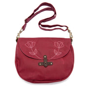 Waxed Canvas Marlo Purse - 'Wildflower'