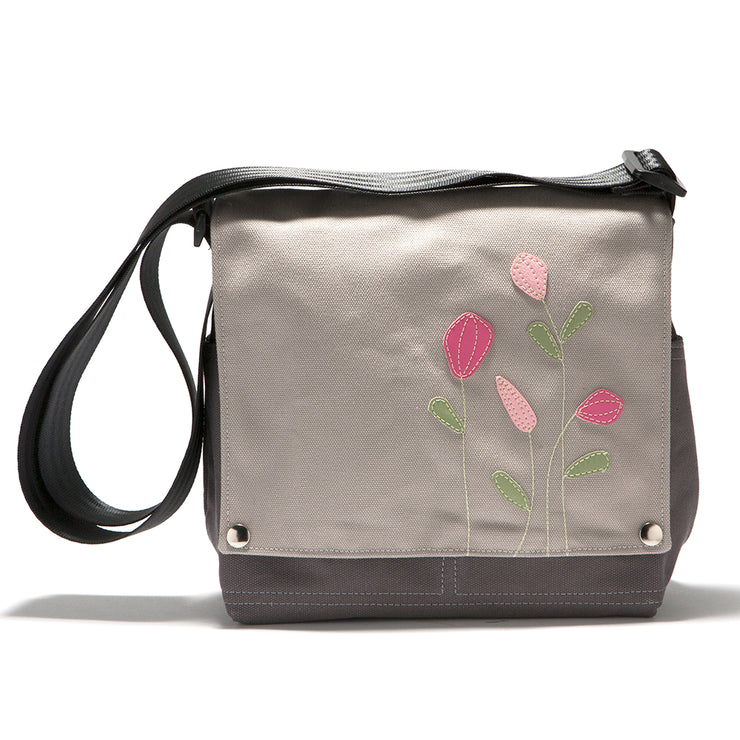 Canvas Truckette Messenger Bag - 'Wildflower'