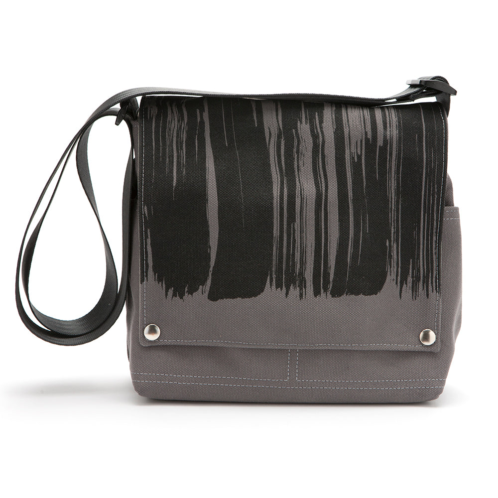 Canvas Truckette Messenger Bag -  Printed Brushstroke  ... 8bae30867a941