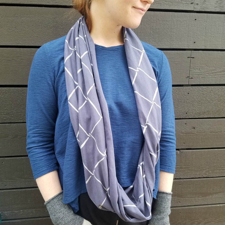 Infinity Scarf - Chain Link