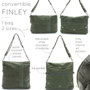 Finley Convertible Bag - 'Sprout'