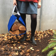 Canvas Firewood Carrier