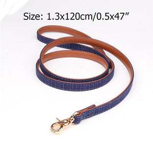 Plaid Collar and Adjustable Leash Set (3709426073680)