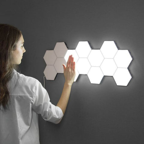Honeycomb Touch LED Wall Lamp | Houzhack