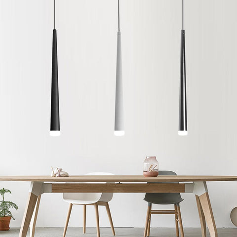Puluoti Steel Tube LED Hanging Lights | Houzhack