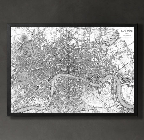 Map Print, LONDON - Map Prints by GeoArtShed  - 3
