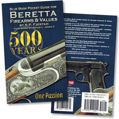 Beretta Firearms and Values Blue Book Pocket Guide