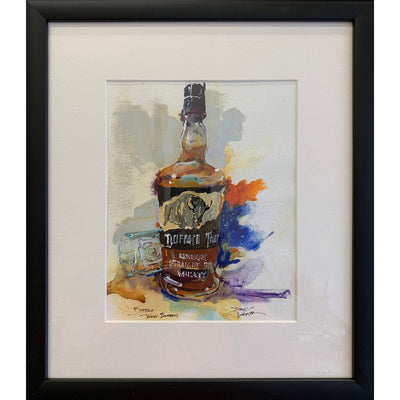 Buffalo Trace Painting by Dirk Walker