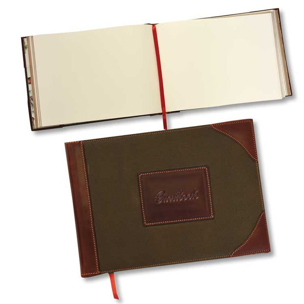 Kevin's Leather Trim Guest Book