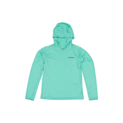 Simms Childrens Solar Tech Hoody-CHILDRENS CLOTHING-Simms Fishing Products-Aruba-S-Kevin's Fine Outdoor Gear & Apparel