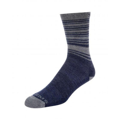 Simms Merino Lightweight Hiker Sock-Men's Accessories-Admiral Blue-M-Kevin's Fine Outdoor Gear & Apparel