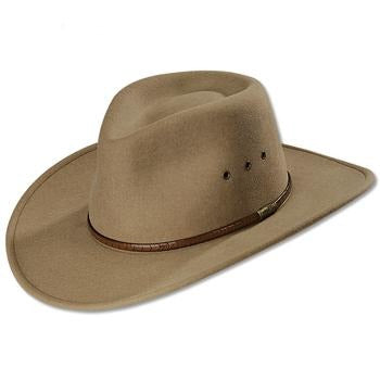 Stetson MOAB Crushable Wool Felt Hat