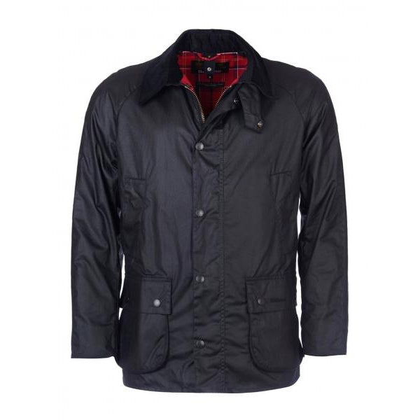 Barbour Washed Ashby Wax Jacket-MENS CLOTHING-BLACK-XXL-Kevin's Fine Outdoor Gear & Apparel