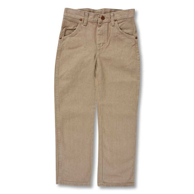 Wrangler Cowboy Cut Original Fit Kids' Jean-CHILDRENS CLOTHING-WRANGLER JEANS-TAN-10-Kevin's Fine Outdoor Gear & Apparel