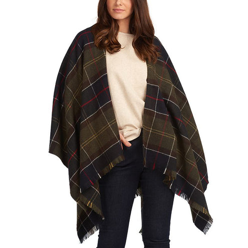 Barbour Staffin Tartan Serape-WOMENS CLOTHING-Kevin's Fine Outdoor Gear & Apparel