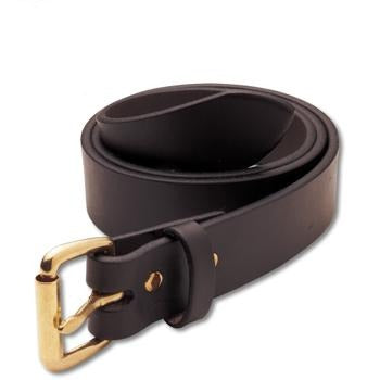"Filson 1-1/4""Leather Belt"