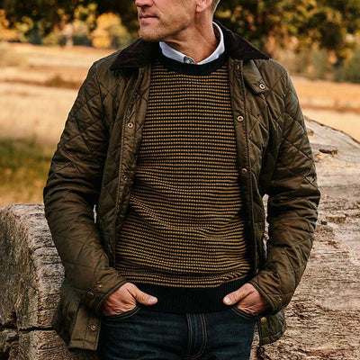 Barbour Icons Men's Quilted Liddesdale Jacket