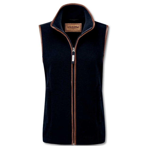 Schoffel Ladies Lyndon II Gilet-WOMENS CLOTHING-Schöffel Country-NAVY-US16/UK20-Kevin's Fine Outdoor Gear & Apparel