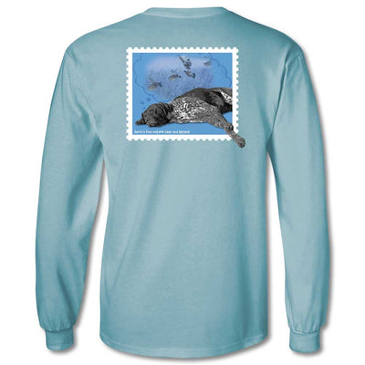 Kevin's Dreaming Dog Long Sleeve T-Shirt-T-Shirts-S-Kevin's Fine Outdoor Gear & Apparel
