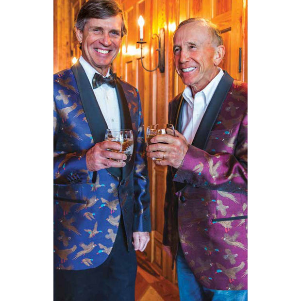 Kevin's Silk Gamebird Dinner Jacket-MENS CLOTHING-Kevin's Fine Outdoor Gear & Apparel
