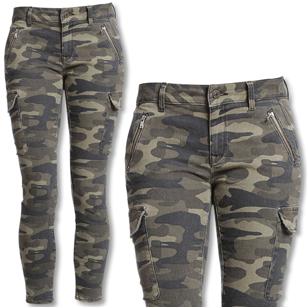 Women's Mavi Juliette Skinny Cargo Pant-WOMENS CLOTHING-CAMOUFLAGE-US 10/30-Kevin's Fine Outdoor Gear & Apparel