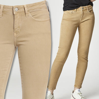 Women's Mavi Alexa Ankle Twill Jean-WOMENS CLOTHING-IRISH CREAM-US 0/25-Kevin's Fine Outdoor Gear & Apparel