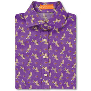 Kevin's Huntress Quail Printed Shirt-WOMENS CLOTHING-PURPLE-XXL-Kevin's Fine Outdoor Gear & Apparel