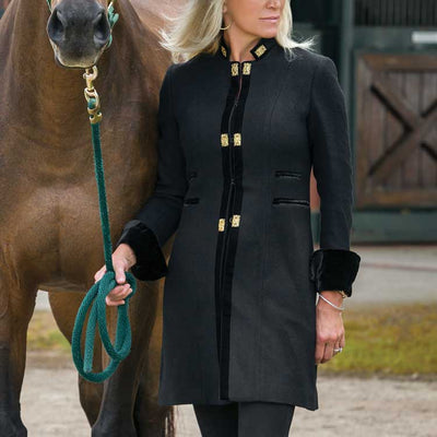 T.Ba Ladies Medallions Short Coat