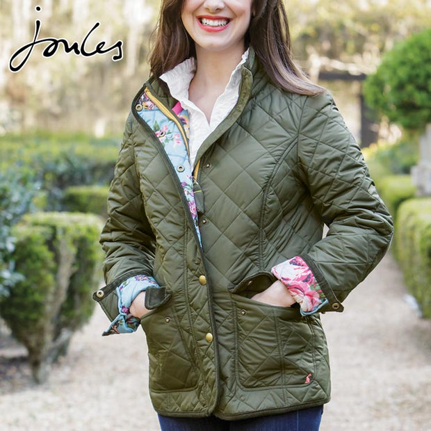 Joules Women's Classic Quilted Jacket