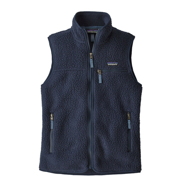 Patagonia Women's Retro Pile Fleece Vest-WOMENS CLOTHING-PATAGONIA, INC.-NEW NAVY-L-Kevin's Fine Outdoor Gear & Apparel