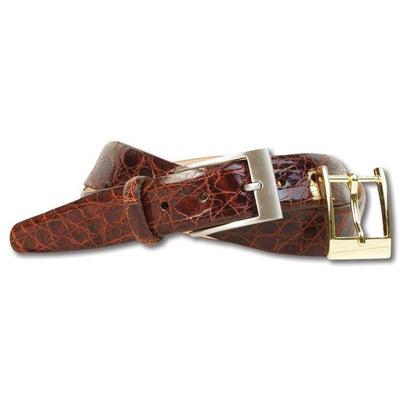 Martin Dingman Delaney Caimen 2 Buckle Belt