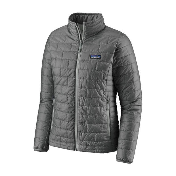 Patagonia Women's Nano Puff Jacket-Liquidate-PATAGONIA, INC.-FEATHER GREY-L-Kevin's Fine Outdoor Gear & Apparel