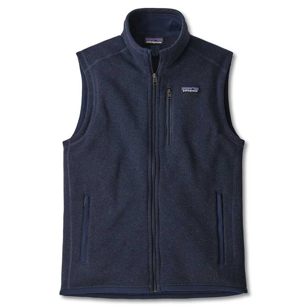 Patagonia Men's Better Sweater Vest-MENS CLOTHING-New Navy-M-Kevin's Fine Outdoor Gear & Apparel