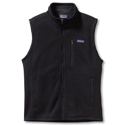 Patagonia Men's Better Sweater Vest-MENS CLOTHING-Black-S-Kevin's Fine Outdoor Gear & Apparel