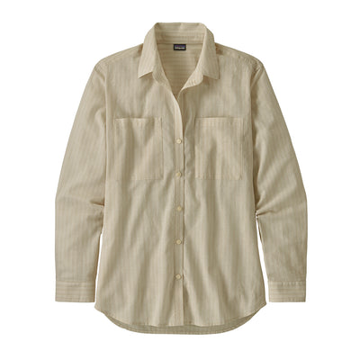 Patagonia Ladies A/C Button Down Shirt-WOMENS CLOTHING-PATAGONIA, INC.-Pumice-XS-Kevin's Fine Outdoor Gear & Apparel