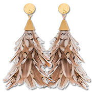 Brackish Feather Earrings-Anna Quail-JEWELRY-Brackish-Anna Quail-Kevin's Fine Outdoor Gear & Apparel
