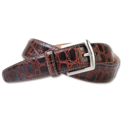 Martin Dingman Saxon Crocodile Grain Belt