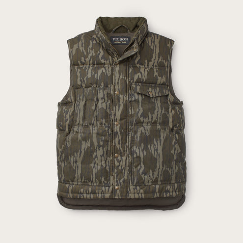Filson Camo Down Cruiser Vest-MENS CLOTHING-FILSON-Bottomland-M-Kevin's Fine Outdoor Gear & Apparel