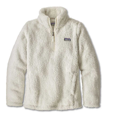 Patagonia Girls' Los Gatos 1/4 Zip-CHILDRENS CLOTHING-BIRCH WHITE-M-Kevin's Fine Outdoor Gear & Apparel