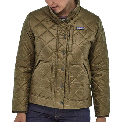 Patagonia Women's Back Pasture Jacket-WOMENS CLOTHING-PATAGONIA, INC.-SAGE KHAKI-L-Kevin's Fine Outdoor Gear & Apparel