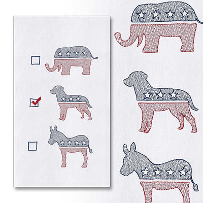 Labs for America Kitchen Towel-HOME/GIFTWARE-TOWEL-Kevin's Fine Outdoor Gear & Apparel