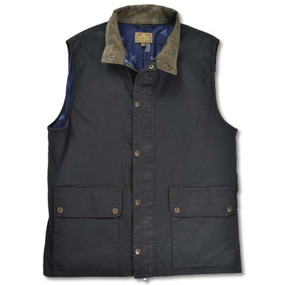 Kevin's Washable Waxed Men's Vest-MENS CLOTHING-DARK GREEN-2XL-Kevin's Fine Outdoor Gear & Apparel