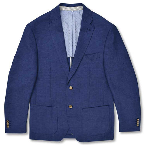 Kevin's Navy Soft Jacket-MENS CLOTHING-Triluxe Apparel Group, Inc-NAVY NAILHEAD-38 REG-Kevin's Fine Outdoor Gear & Apparel