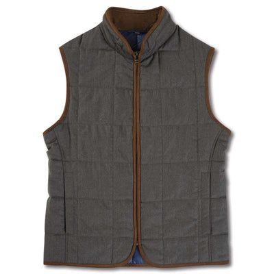Kevin's Flannel Vest-MENS CLOTHING-GREY-L-Kevin's Fine Outdoor Gear & Apparel