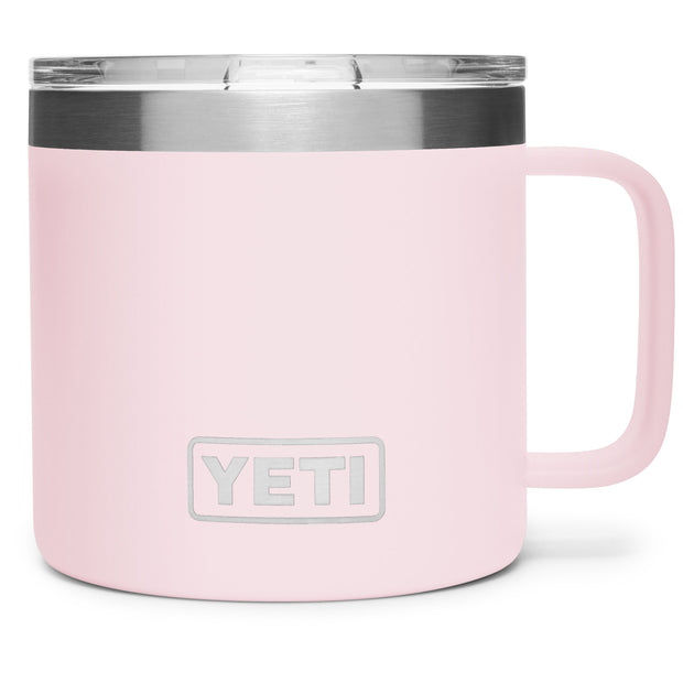 YETI Rambler 14oz. Mug-HUNTING/OUTDOORS-ICE PINK-Kevin's Fine Outdoor Gear & Apparel